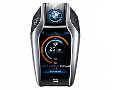 Camera BMW Car Key Scanning